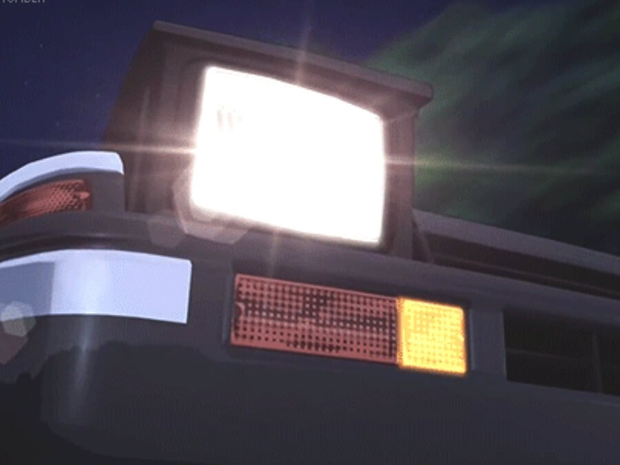 Anime Toyota AE86 Pop-Up Lights