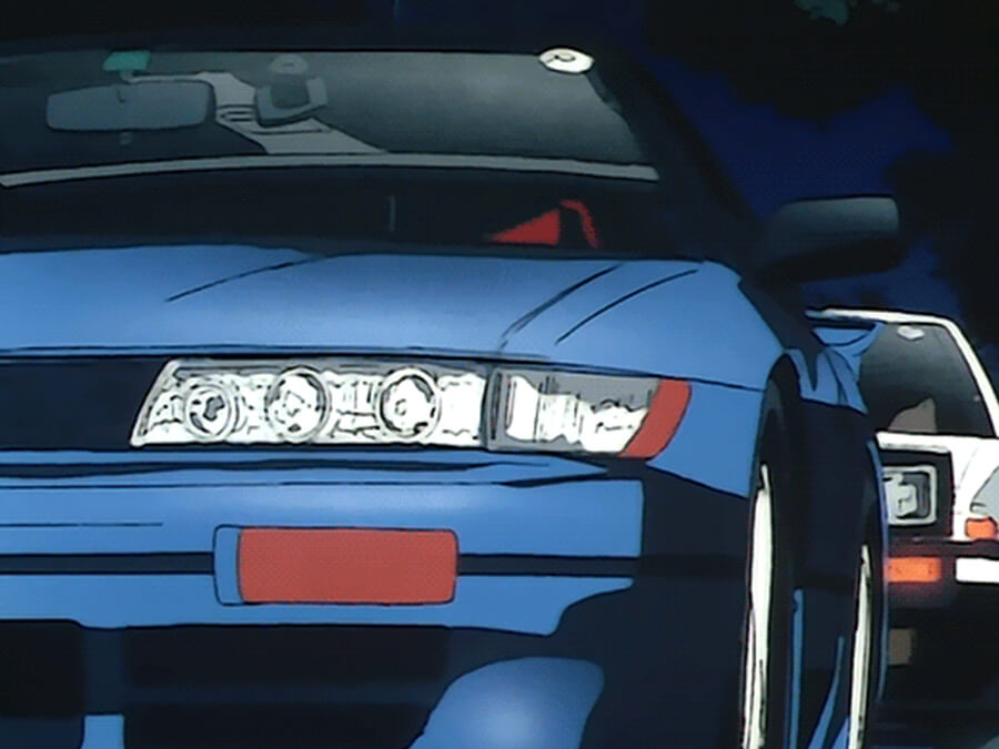 JDM Anime Icons: Nissan Silvia S13 and Toyota AE86