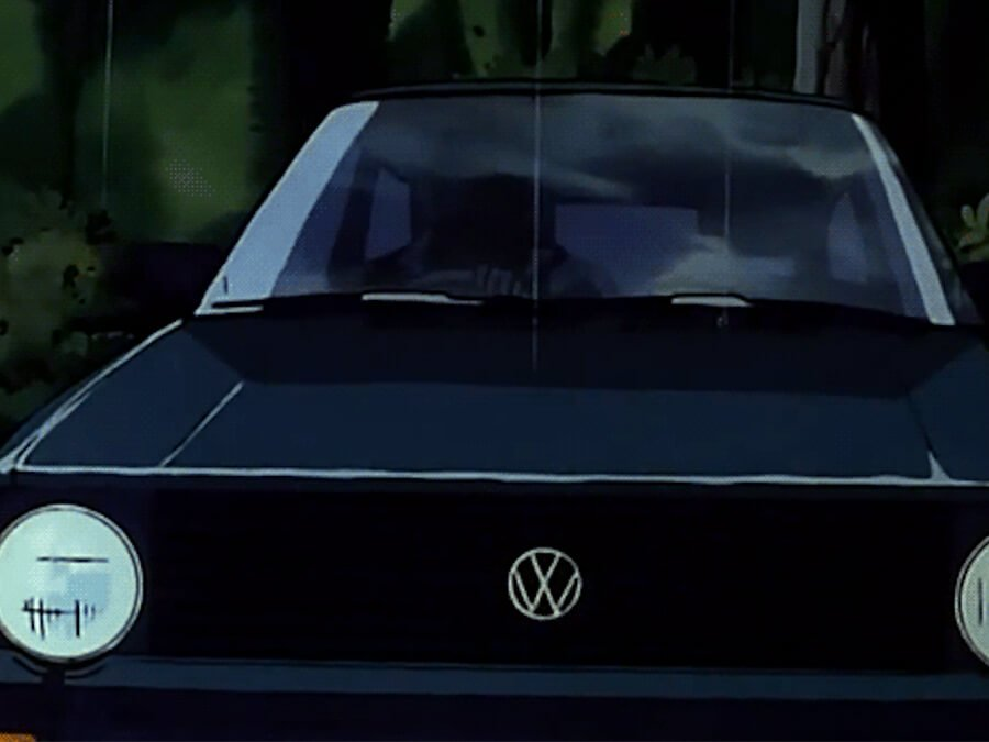 Anime Volkswagen Golf Mk1 Car Loop
