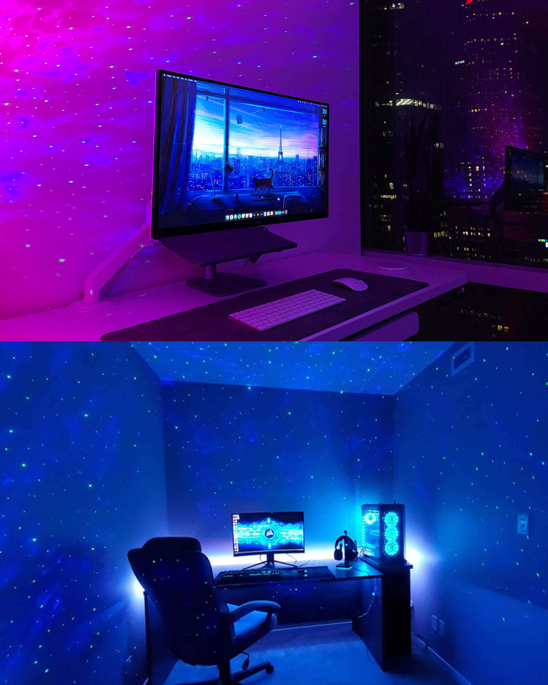 Star Galaxy Light Projector for Desk