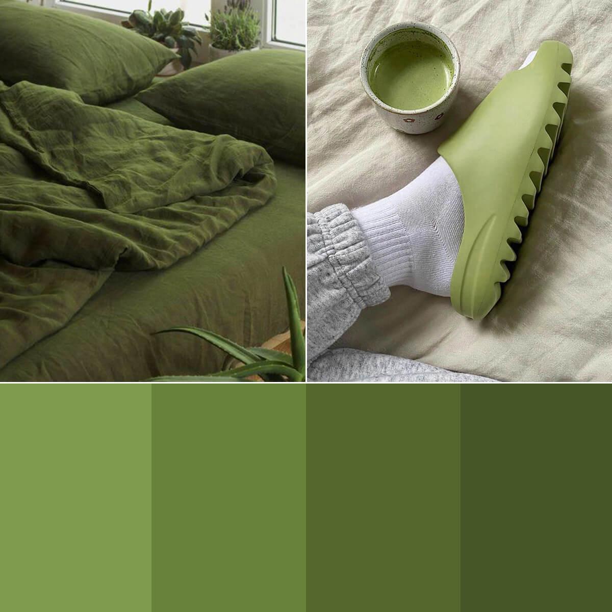 Olive Green Color Palette