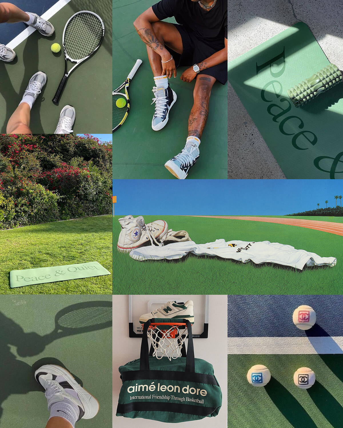 Aesthetic Green Sports Pictures