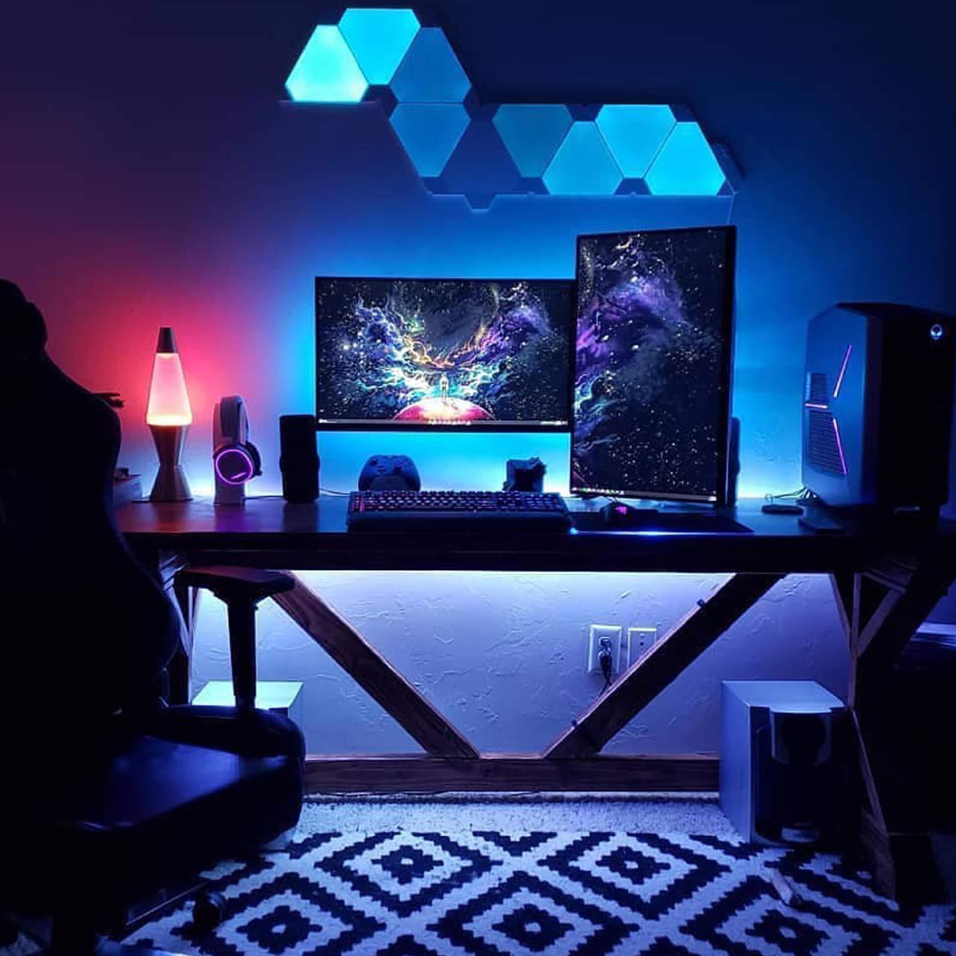 Red & Blue Desk Backlight