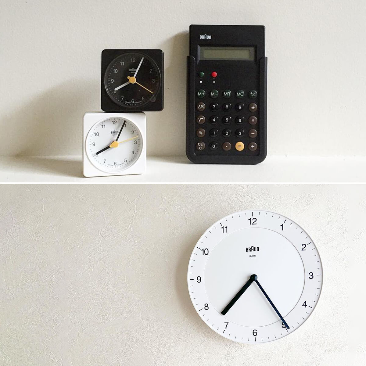 Minimalist Desk Clocks