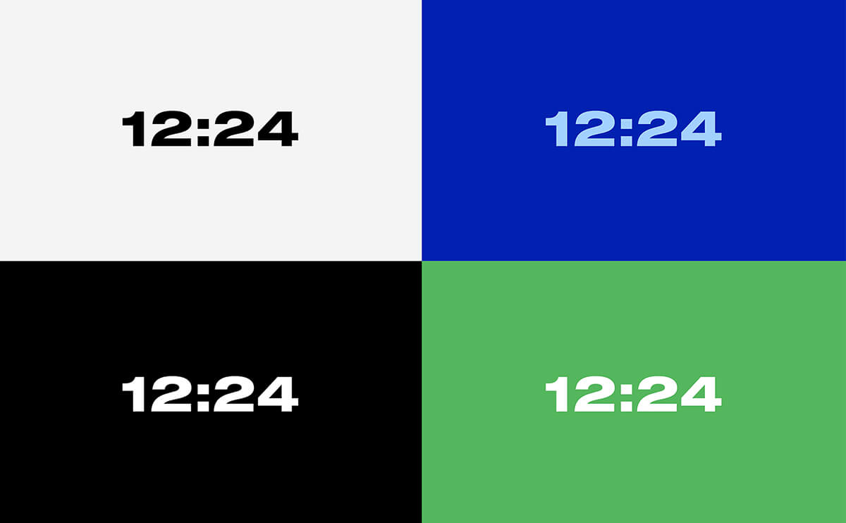Minimal Aesthetic Clock Screensaver