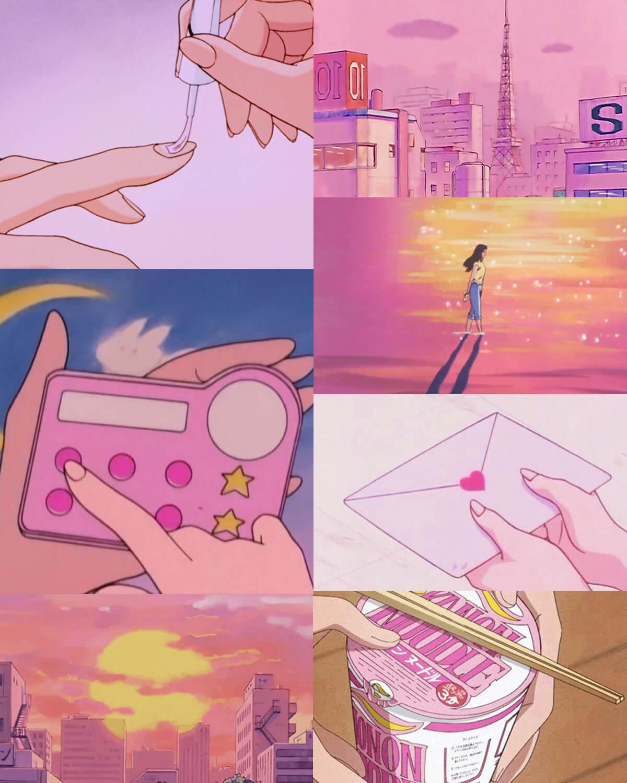 Pink Anime Aesthetic