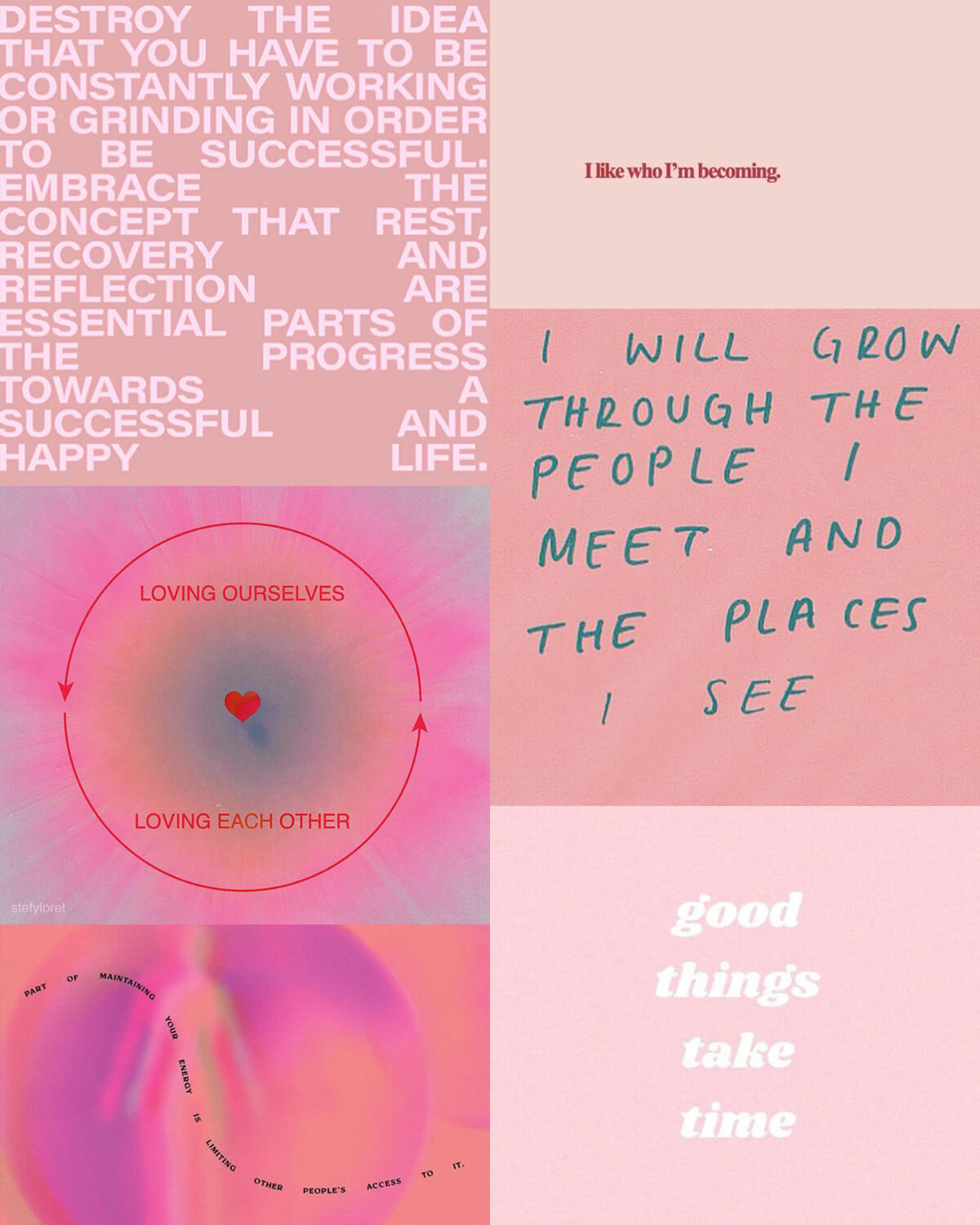 Pink Aesthetic Quotes