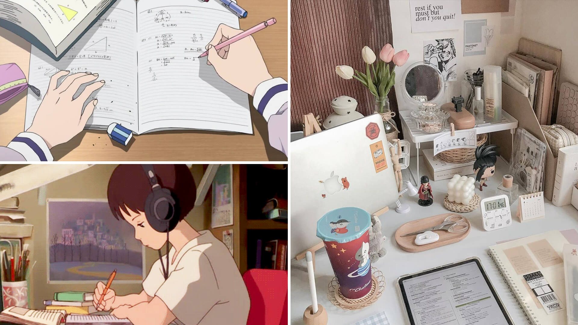 Study Aesthetic Inspo for Your Motivation