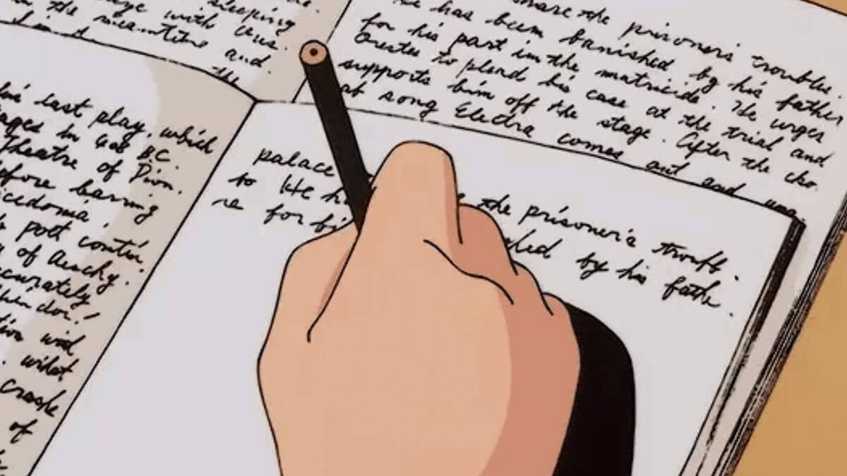 Study anime gif