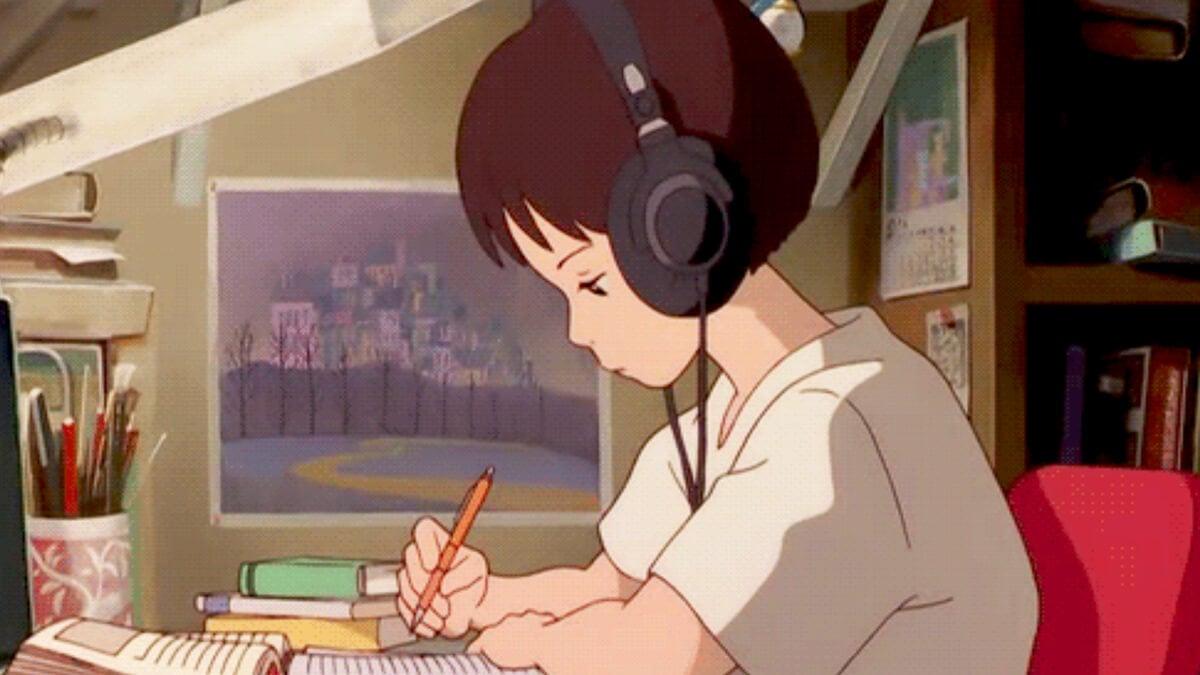 Study Girl Aesthetic