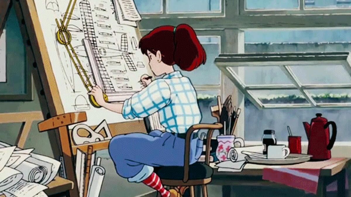 Study Anime Desk Aesthetic