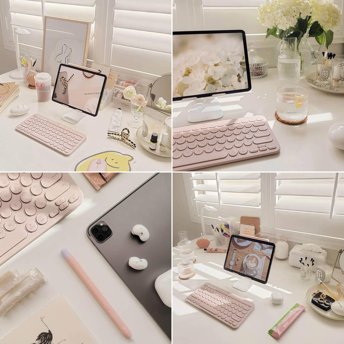 Pink Study Aesthetic