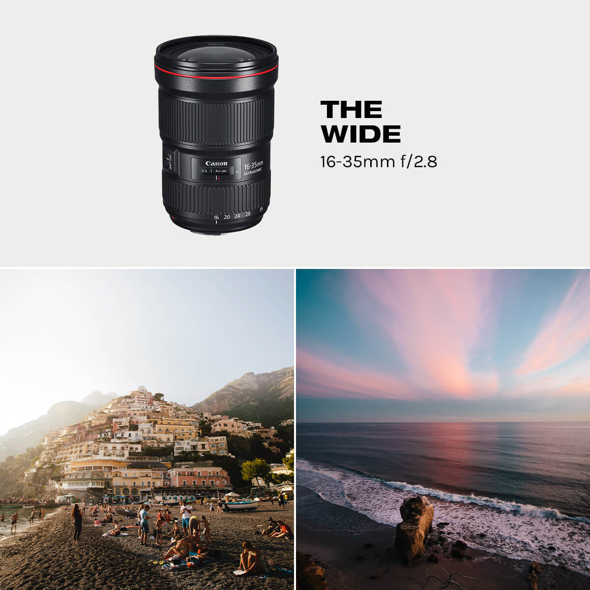 Wide Angle lens for travel photography