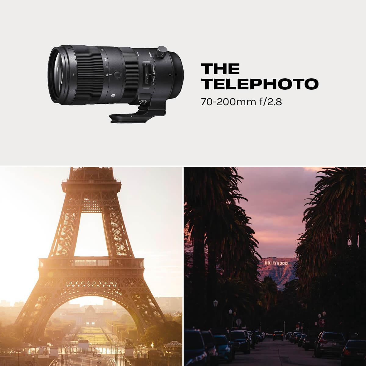 Telephoto Lens for Travel
