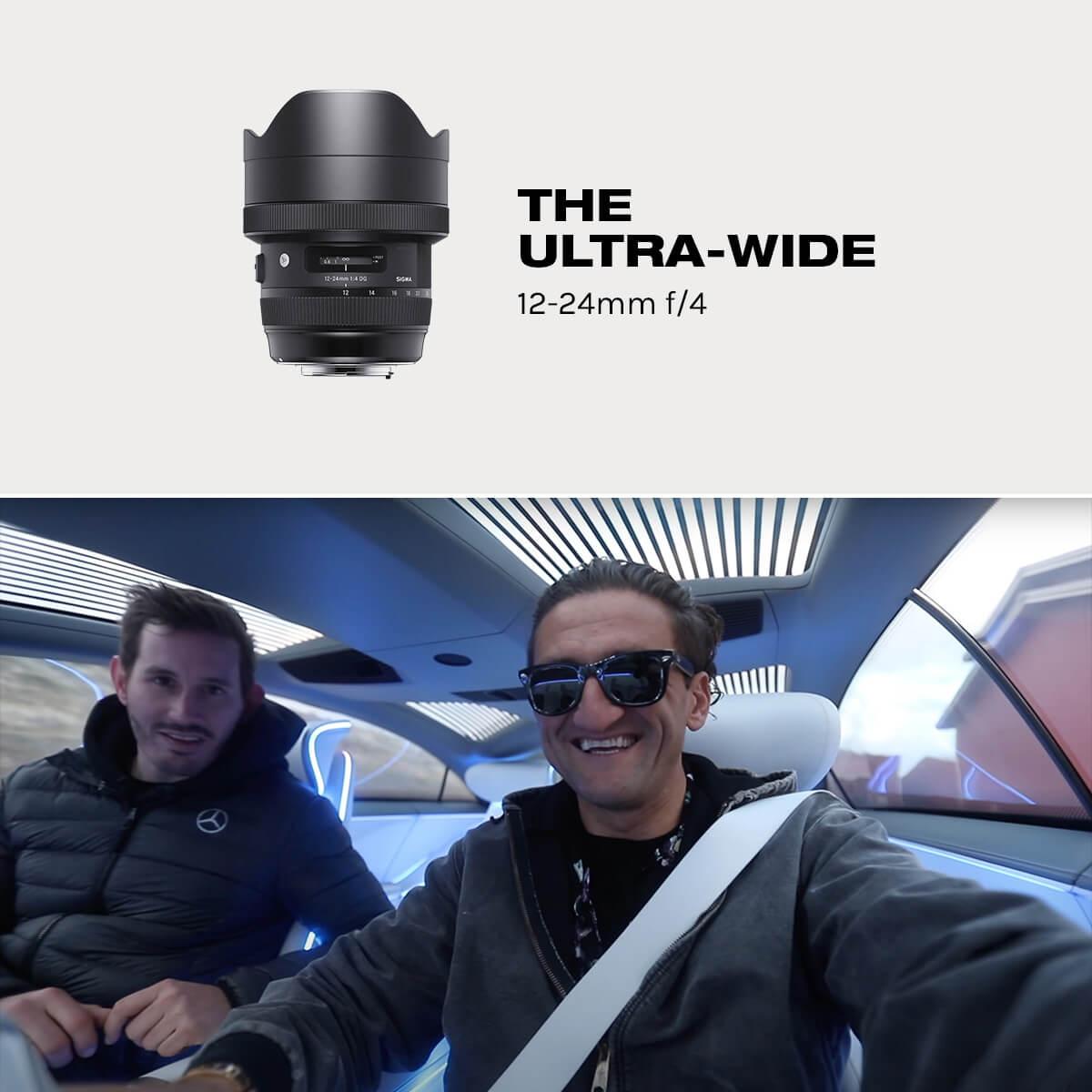24mm Ultrawide vlog lens