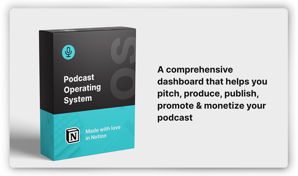 Podcast Templates & Planner in Notion