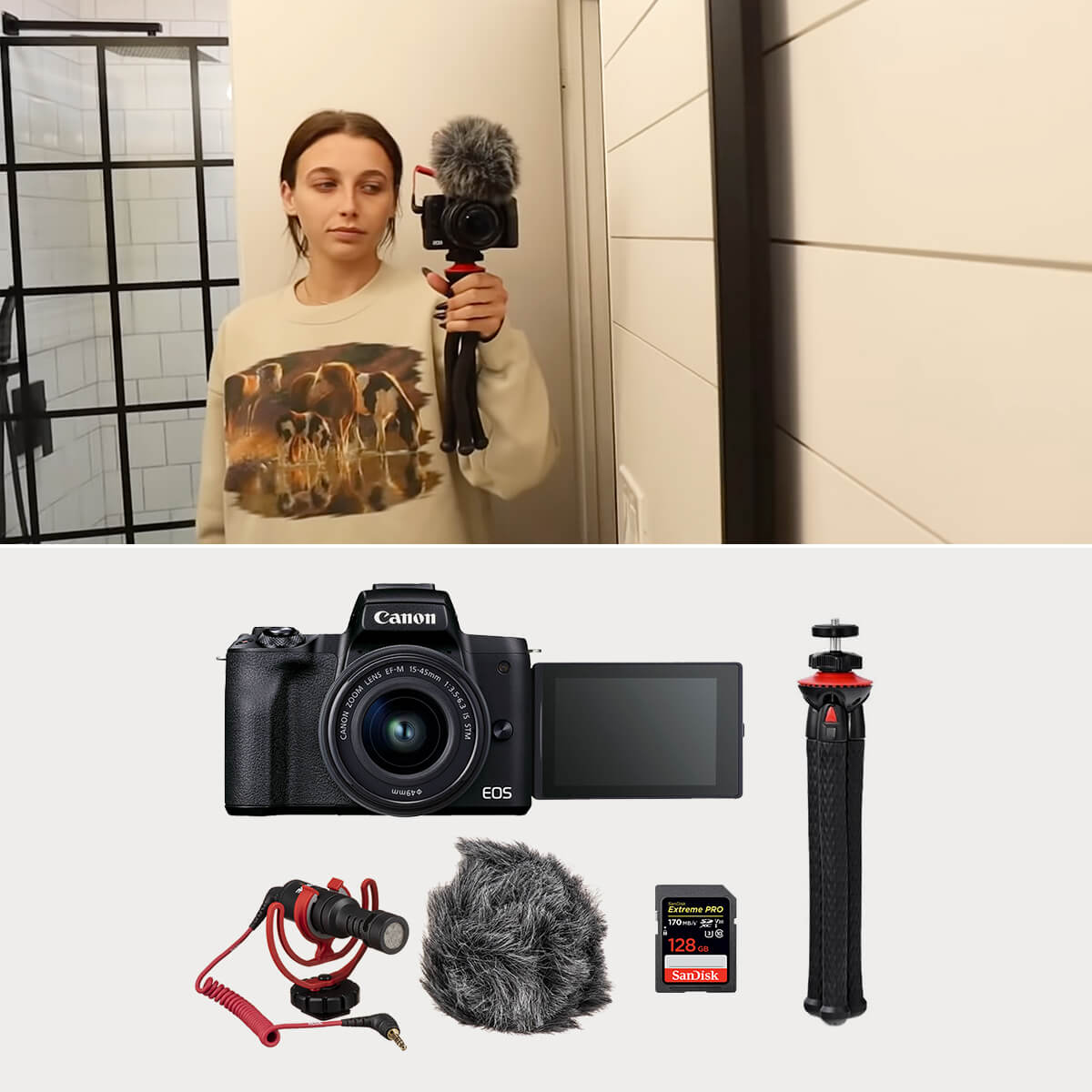 What Camera Does Emma Chamberlain use?