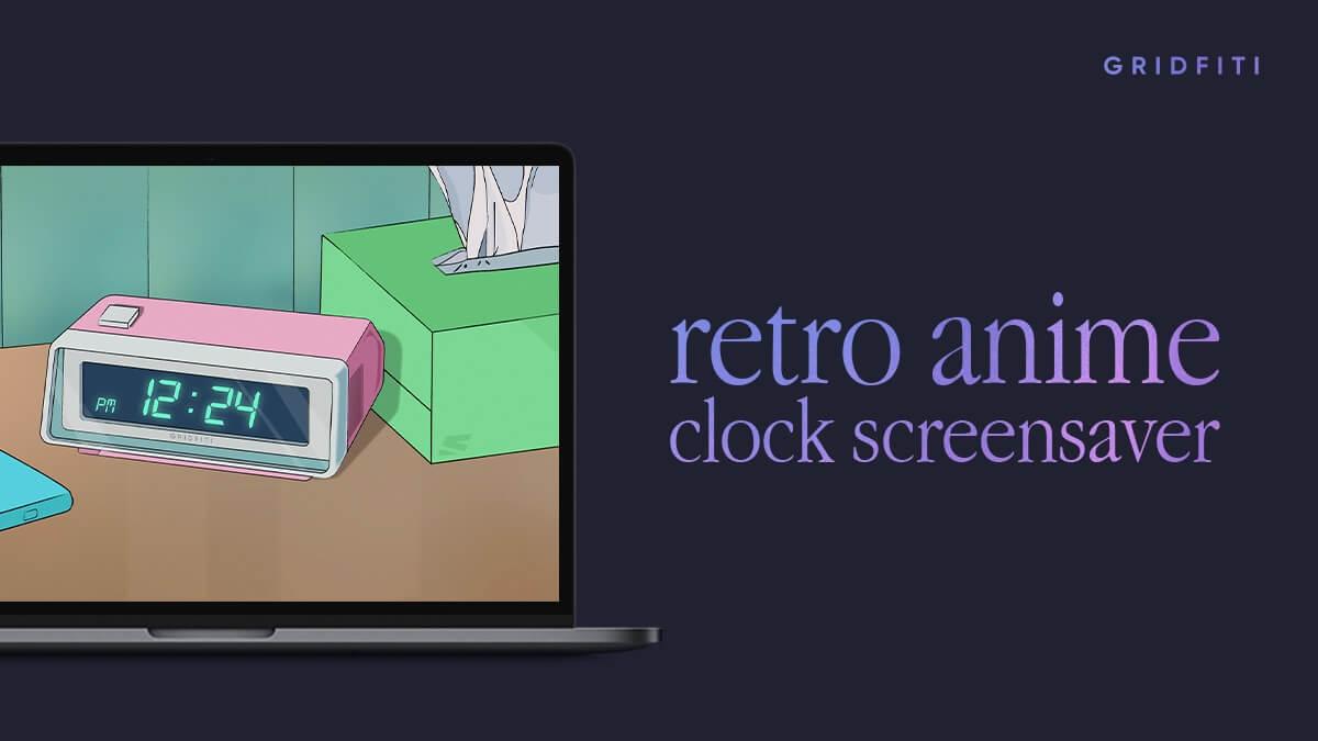 Anime Clock Screensaver