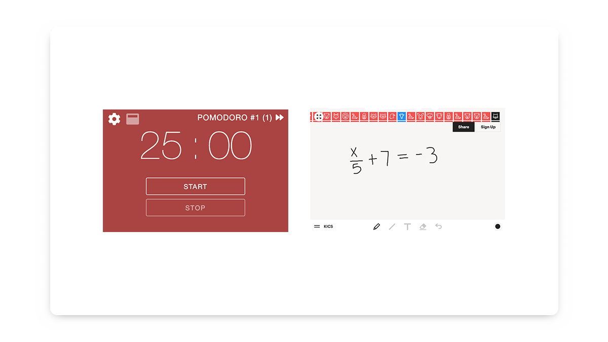 Notion Widgets for Students