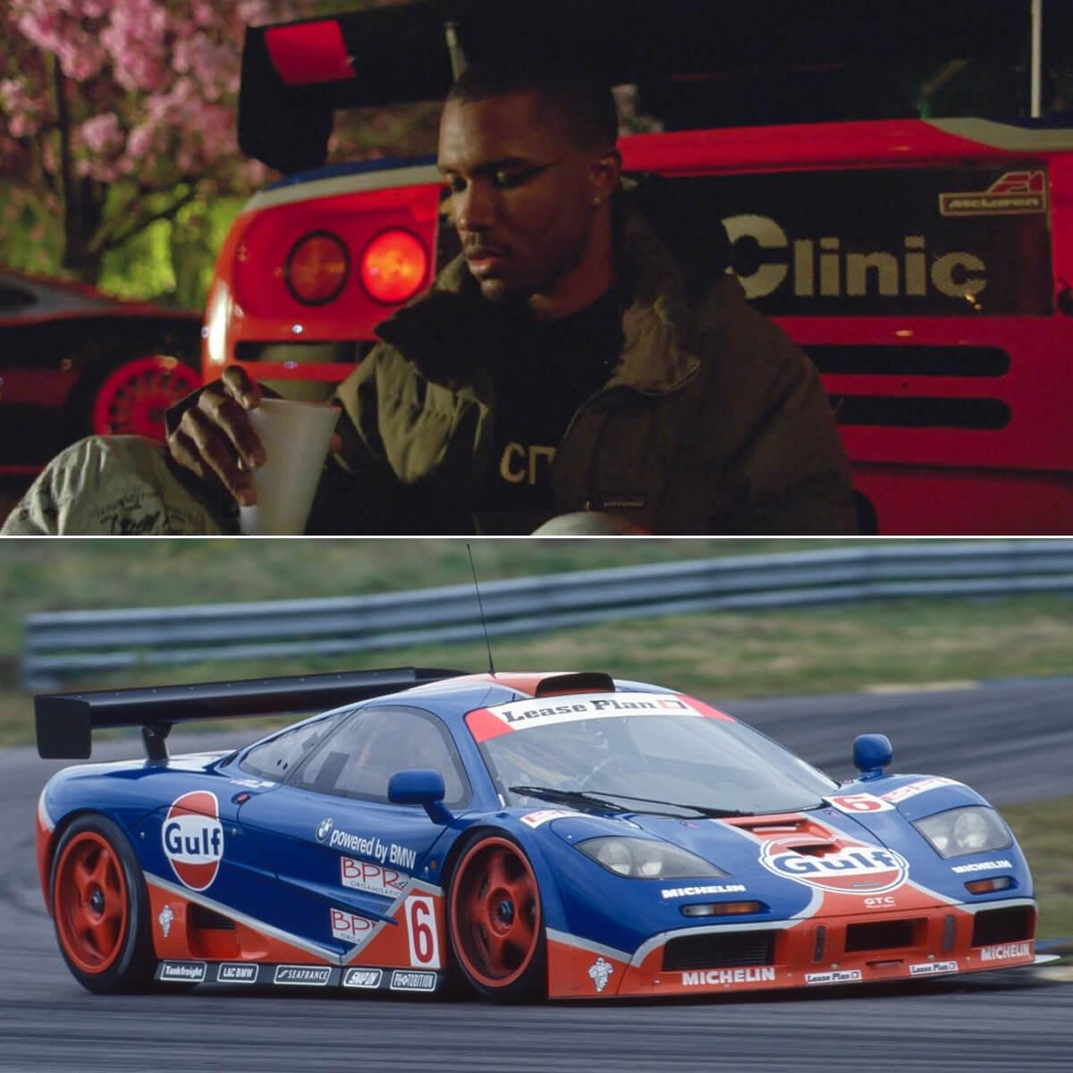 McLaren F1 GTR (Ueno Clinic Gulf Livery)