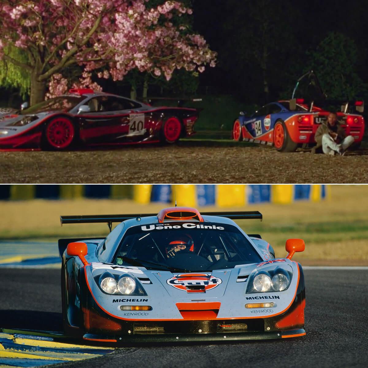 McLaren F1 GTR Longtail (Ueno Clinic Gulf Livery)