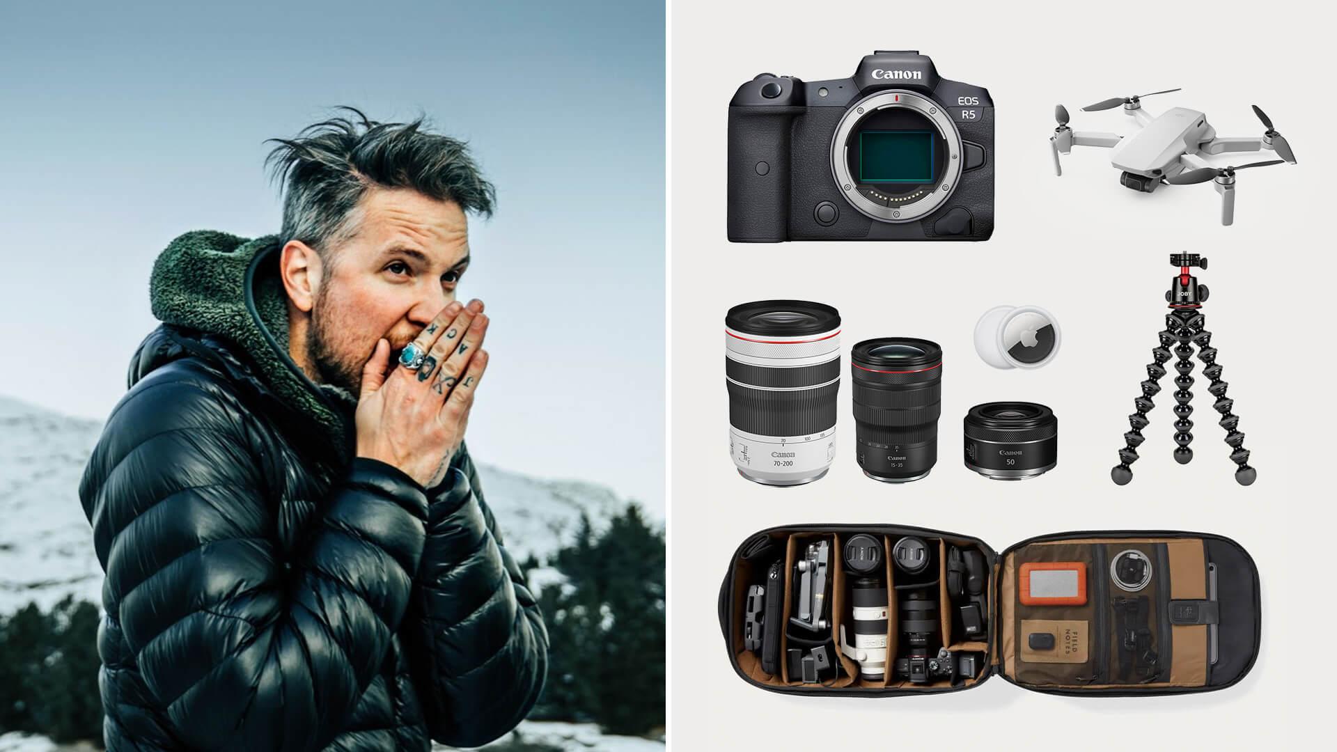Peter McKinnon Camera Gear