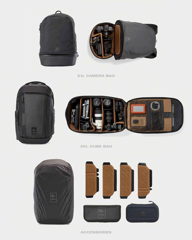 Peter McKinnon's Camera Bag