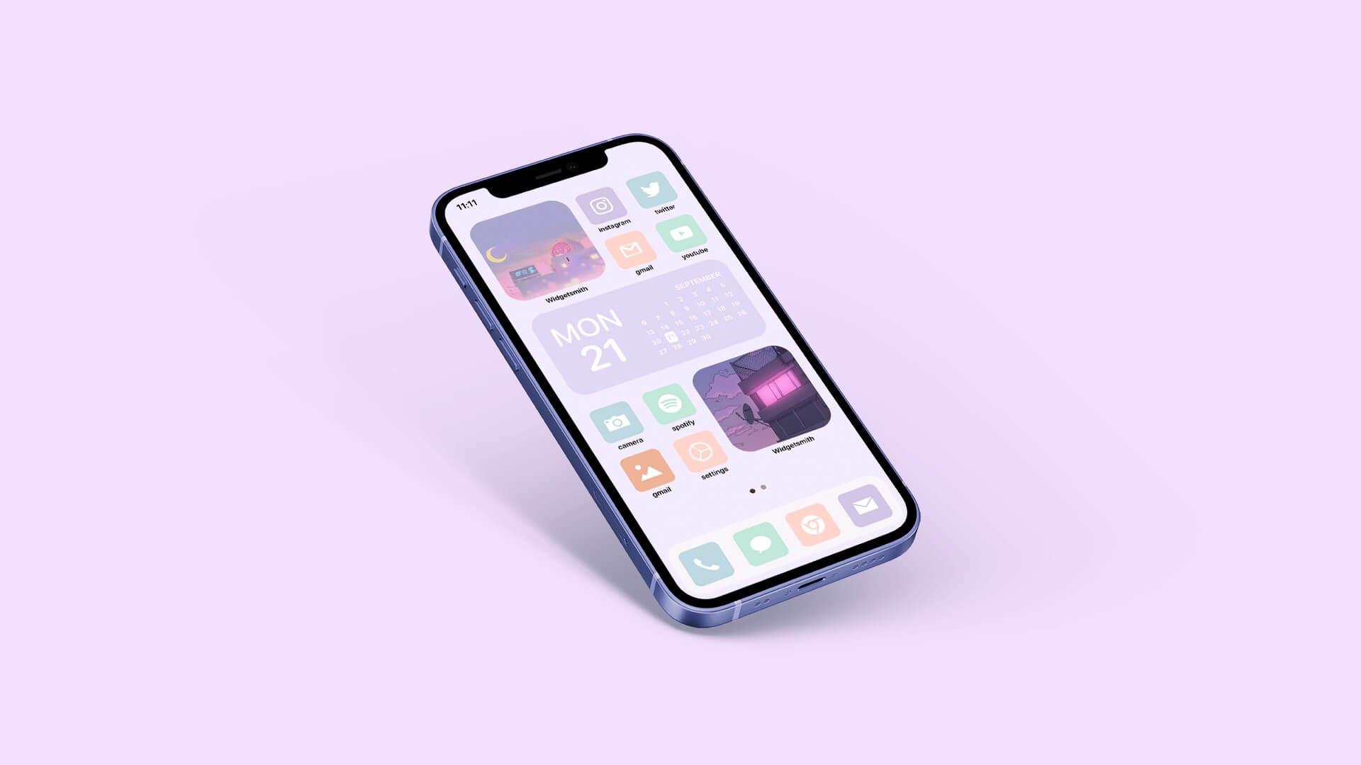 Minimal Aesthetic iOS Home Screen Theme Ideas