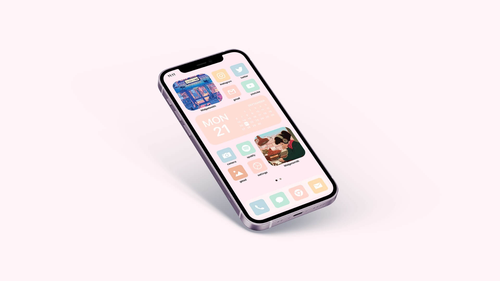 Minimal Aesthetic iOS 14 App Icons Pack