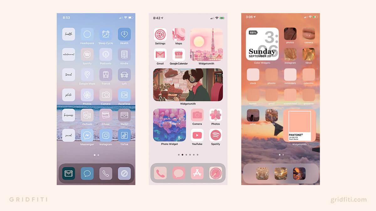 Cute iPhone App Icons