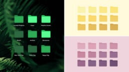 Most Aesthetic Folder Icons