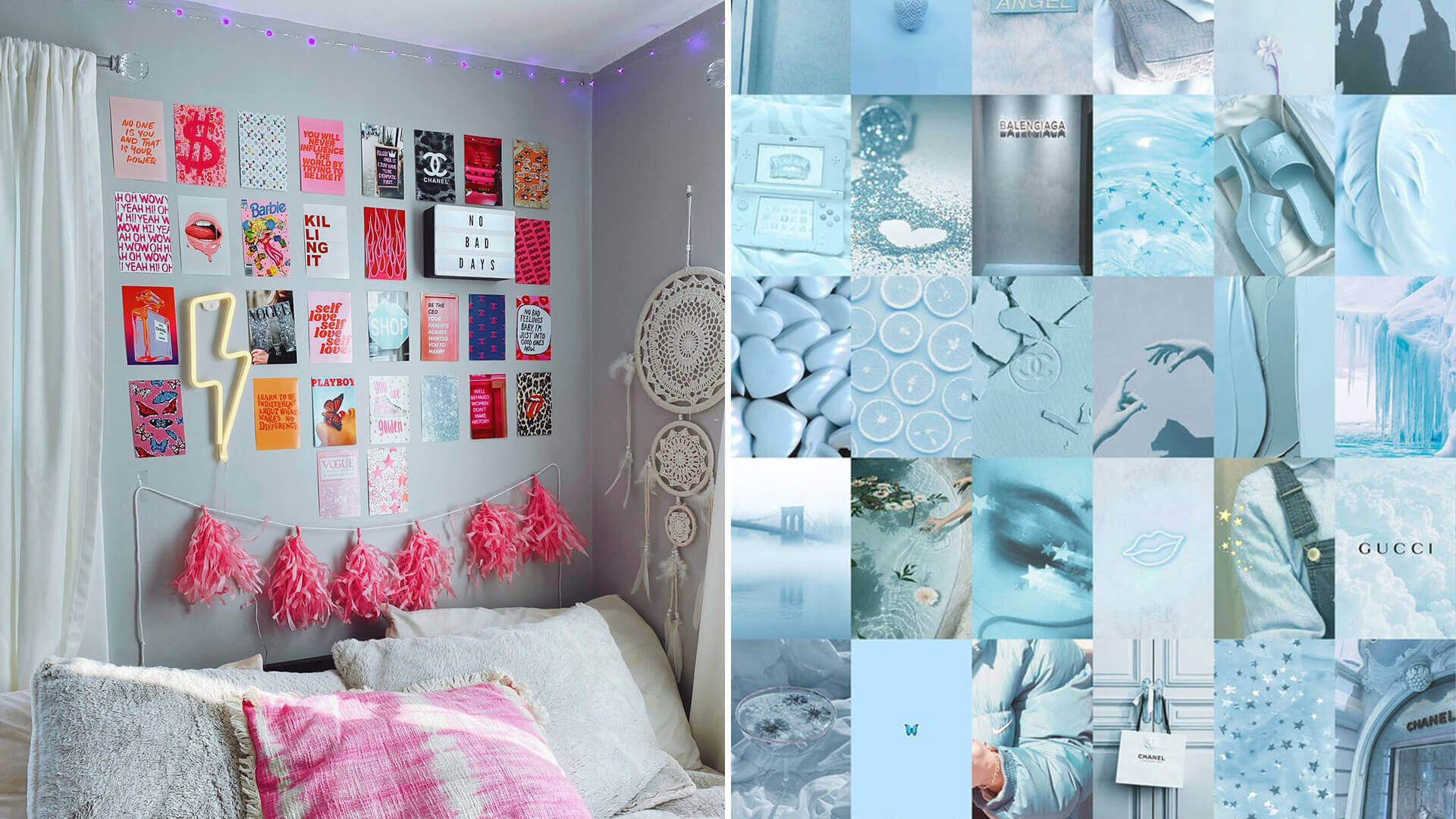 Aesthetic Photo Wall Collage Ideas