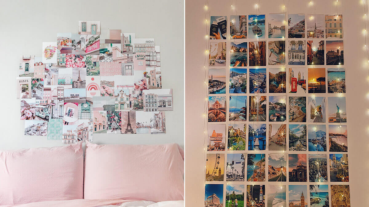 Travel Aesthetic Wall Collage Kit
