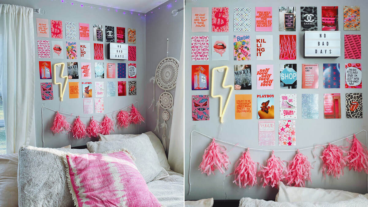 Aesthetic Quotes Collage Wall Kit