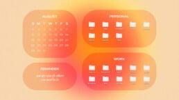 Aesthetic Desktop Organizer Wallpapers & Backgrounds