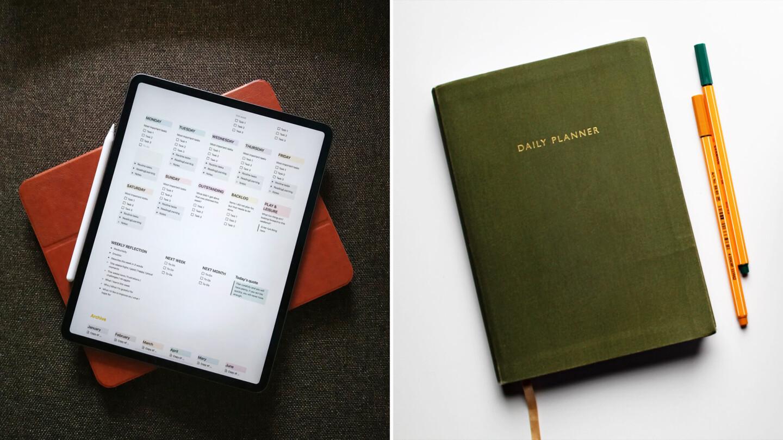 Digital Planner vs. Paper Planner