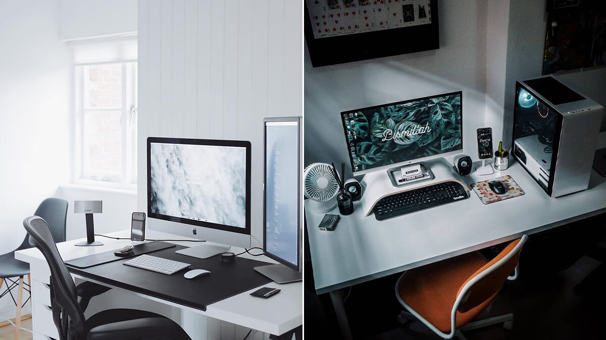 IKEA Linnmon Desk Setup