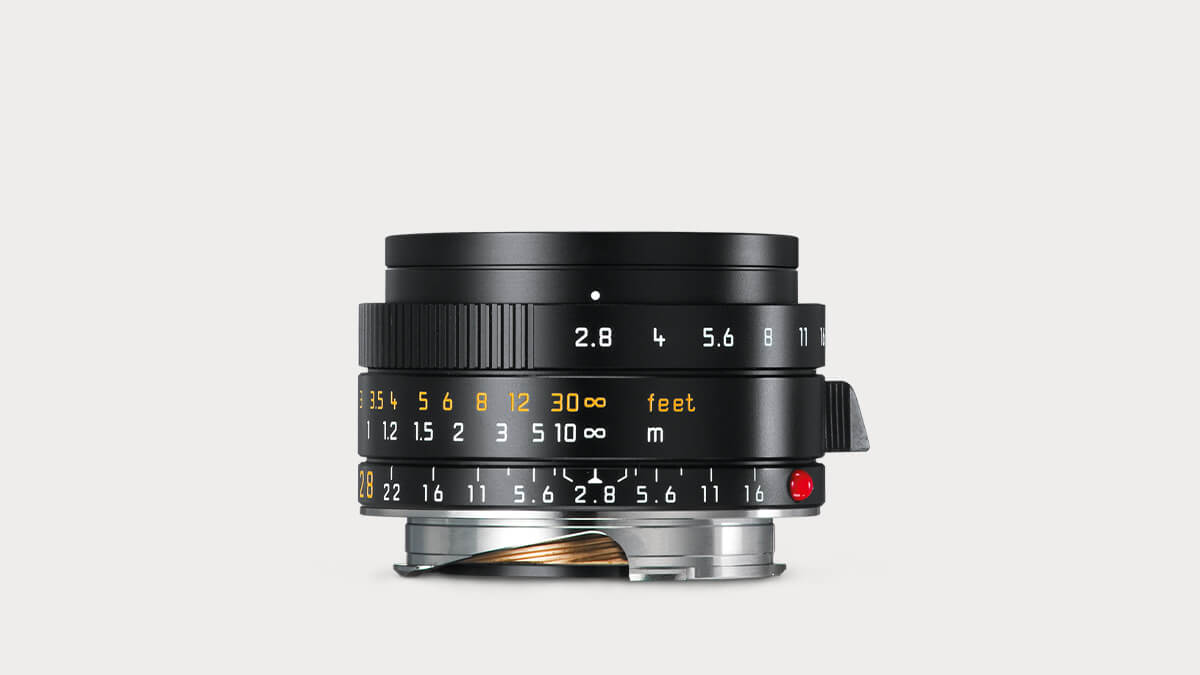 Leica Elmarit-M 28mm f/2.8 Lens