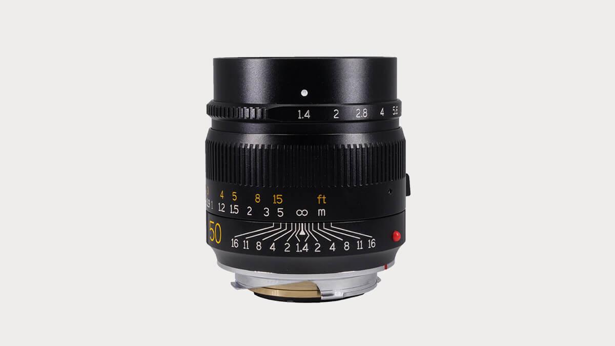 TTArtisan 50mm f/1.4 Lens for Leica M