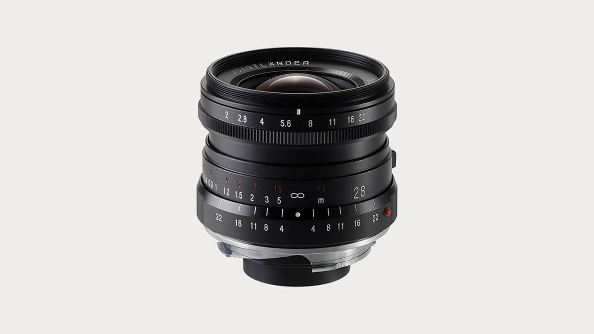 Voigtlander Ultron 28mm f/2 Lens for Leica-28mm