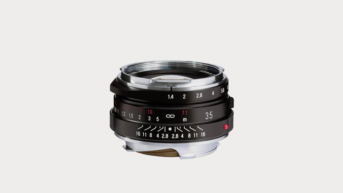 Voigtlander Nokton Classic 35mm f/1.4 II MC Lens for Leica-35mm