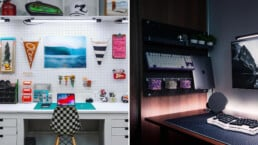 Pegboard Desk Ideas for Your Home Office