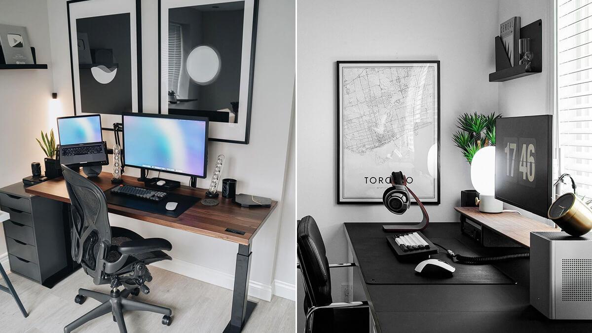 Home Office Wall Print Ideas