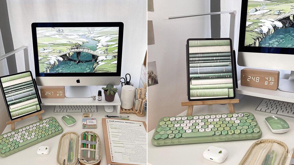 Green iPad Setup