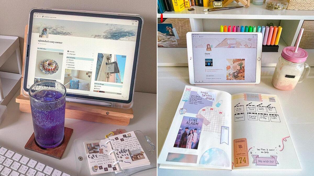Aesthetic Notion iPad Setup