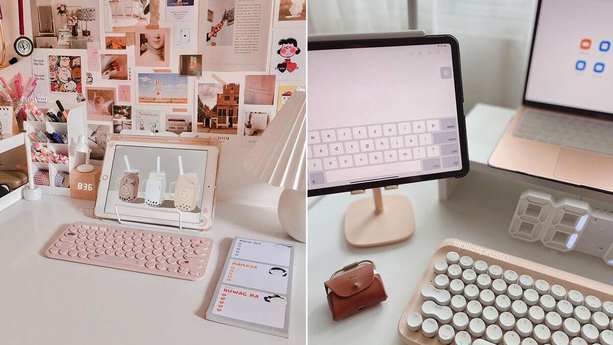 Pink Aesthetic iPad Setup