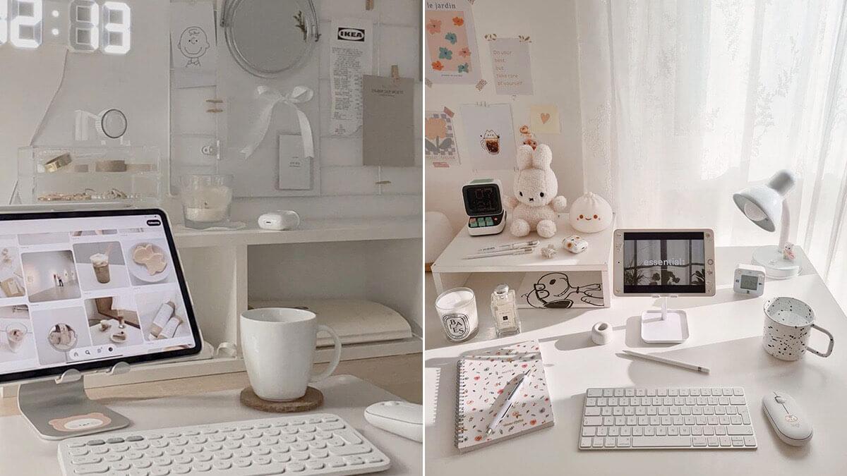 White iPad Setup