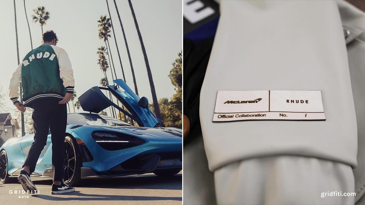 RHUDE & McLaren Fashion