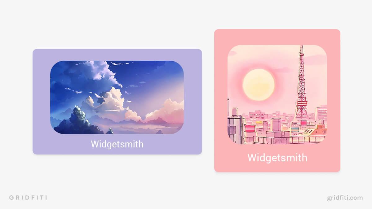 iPad Photo Widgets