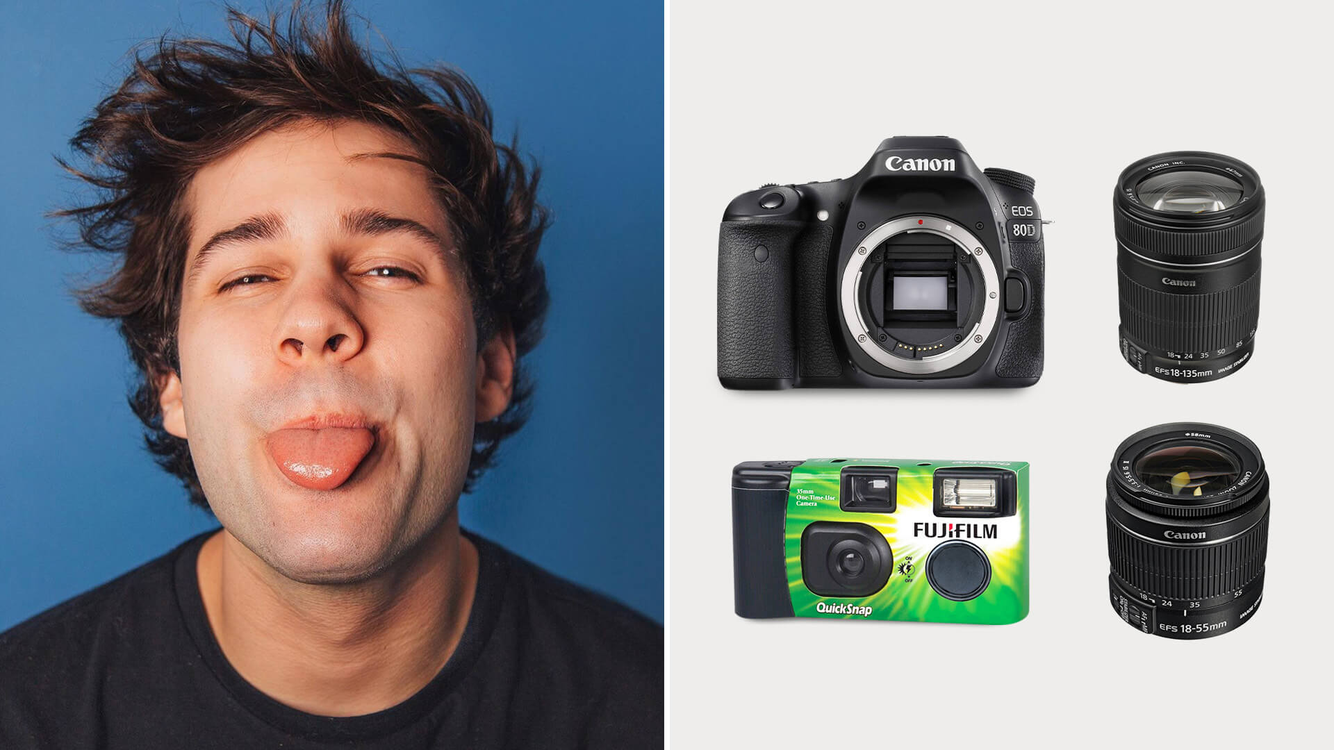 David Dobrik Vlog Camera & Gear
